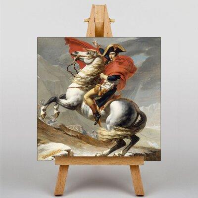 Big Box Art Bonaparte by Jacques-Louis David Art Print on Canvas