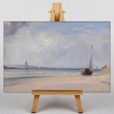 Big Box Art The Boats by Richard Bonington Art Print on Canvas