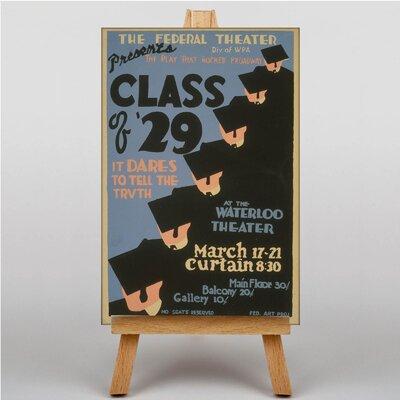 Big Box Art Class of 29 Vintage Advertisement on Canvas