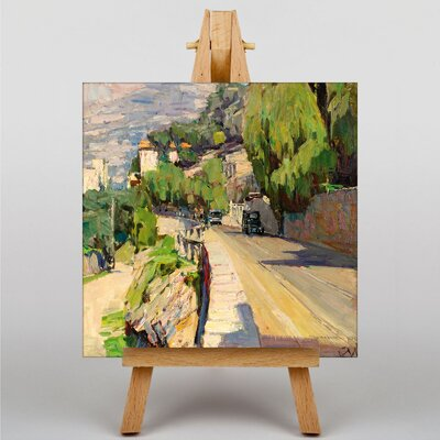 Big Box Art The Cliff Road by Carl Moll Art Print on Canvas