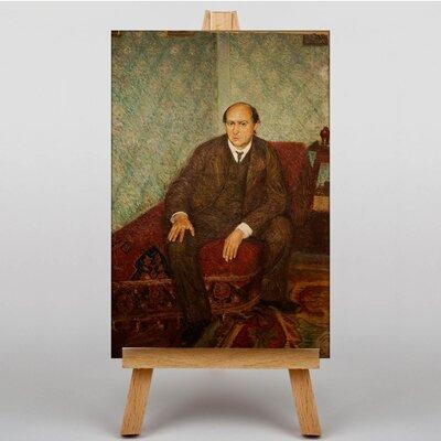 Big Box Art Arnold Schonberg by Richard Gerstl Art Print on Canvas
