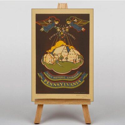 Big Box Art Pennsylvania No.2 Vintage Advertisement on Canvas