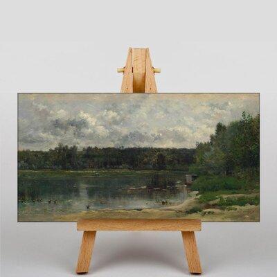 Big Box Art Daubigny Landscape No.10 by Charles-Francois Art Print on Canvas