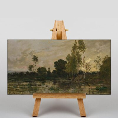 Big Box Art Daubigny Landscape No.11 by Charles-Francois Art Print on Canvas