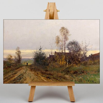 Big Box Art Daubigny Landscape No.3 by Charles-Francois Art Print on Canvas