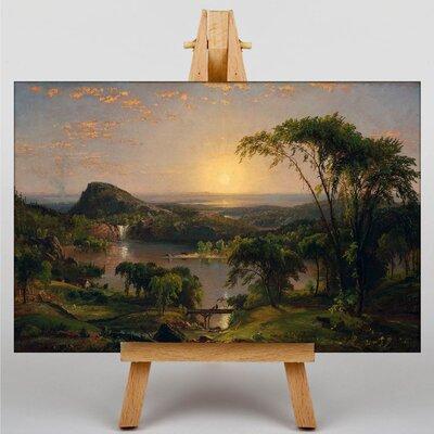 Big Box Art Summer, Lake Ontario by Jasper Francis Cropsey Art Print on Canvas
