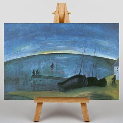 Big Box Art Morning on the Sea by Walter Gramatte Art Print on Canvas