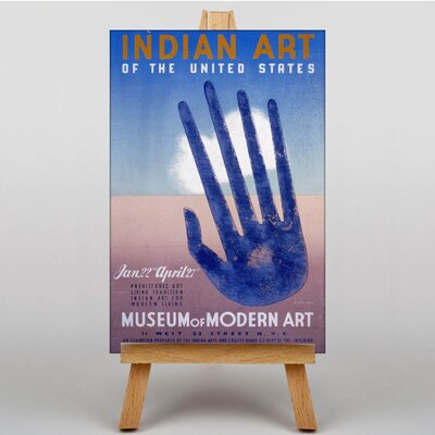 Big Box Art Indian Art Vintage Advertisement on Canvas