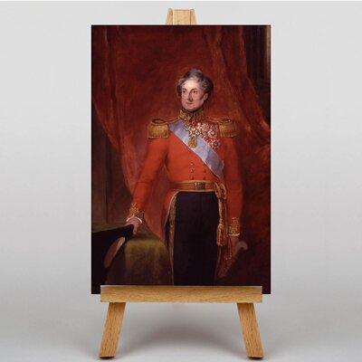 Big Box Art Sir Colin Halkett by William Salter Original Painting on Canvas