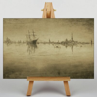 Big Box Art Nocturne No.2 by James McNeill Whistler Art Print on Canvas
