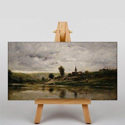 Big Box Art Daubigny Landscape No.6 by Charles-Francois Art Print on Canvas