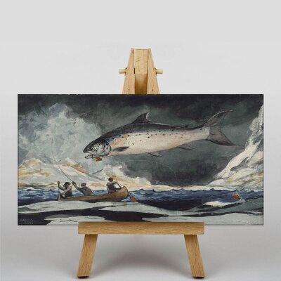 Big Box Art A Good Pool by Winslow Homer Art Print on Canvas