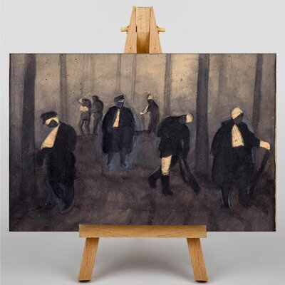 Big Box Art Path of the Nightmare by Jazeps Grosvalds Art Print on Canvas