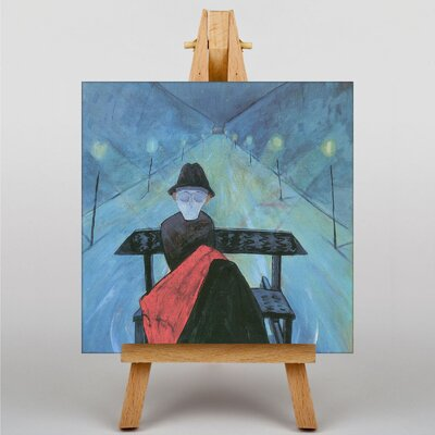 Big Box Art The Man in the Sleigh by Walter Gramatte Art Print on Canvas