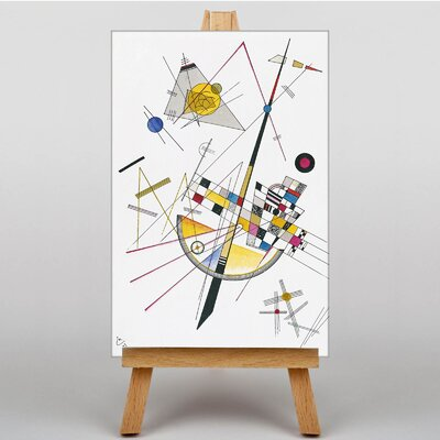 Big Box Art Abstract by Wassily Kandinsky Art Print on Canvas