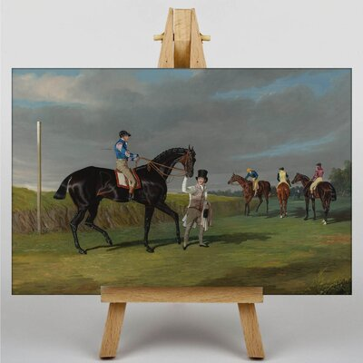 Big Box Art The Doncaster Gold Cup by John Frederick Herring Art Print on Canvas