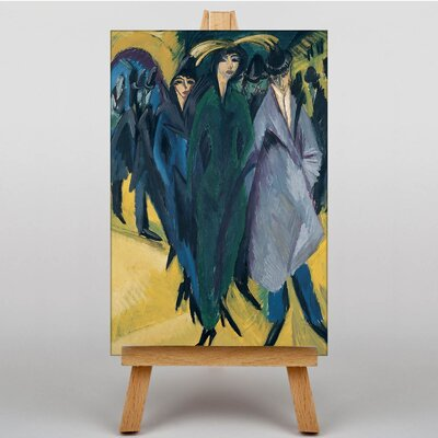 Big Box Art Vienna by Ernst Ludwig Kirchner Art Print on Canvas