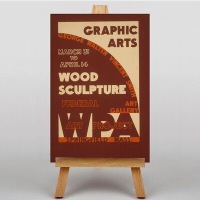 Big Box Art Wood Sculpture Vintage Advertisement on Canvas