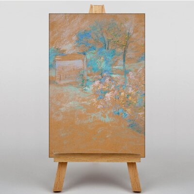 Big Box Art Spring by John Henry Twachtman Art Print on Canvas