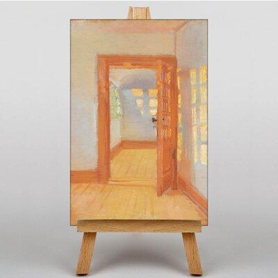 Big Box Art Interior Annex by Anna Ancher Art Print on Canvas