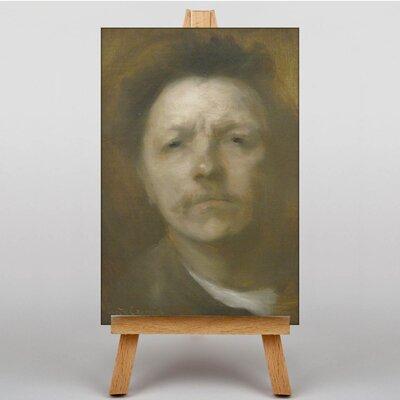 Big Box Art Portrait No.1 by Eugene Carriere Art Print on Canvas
