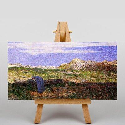 Big Box Art Donna by Giovanni Segantini Art Print on Canvas