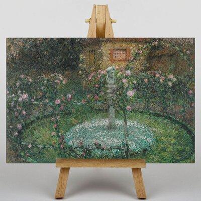 Big Box Art Garden No.3 by Henri Le Sidaner Art Print on Canvas