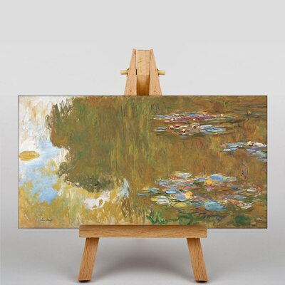 Big Box Art The Water Lilly Pond by Claude Monet Art Print on Canvas