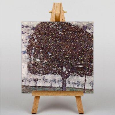 Big Box Art Apple Tree by Gustav Klimt Art Print on Canvas