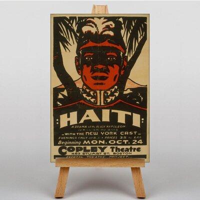 Big Box Art Haiti Vintage Advertisement on Canvas