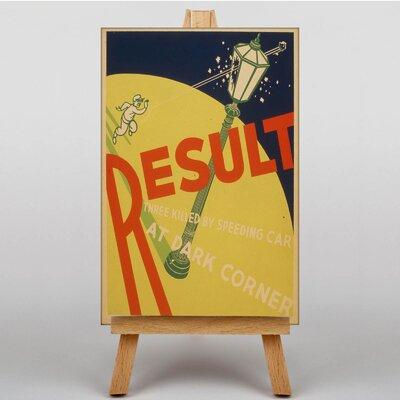 Big Box Art Result Vintage Advertisement on Canvas