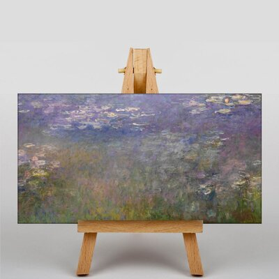 Big Box Art Water Lilies by Claude Monet Art Print on Canvas