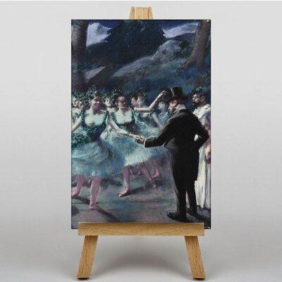 Big Box Art The Ballet by Jean-Louis Forain Art Print on Canvas