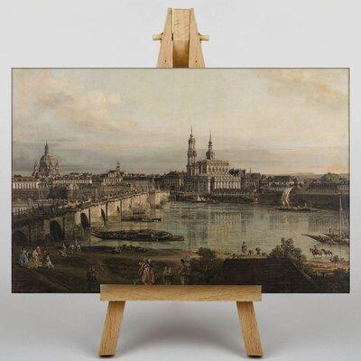Big Box Art Bridge by Bernado Bellotto Canaletto Art Print on Canvas