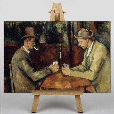 Big Box Art The Card Players No.2 by Paul Cezanne Art Print on Canvas