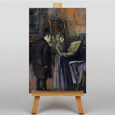 Big Box Art Paintings by Jean-Louis Forain Art Print on Canvas