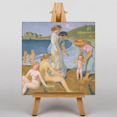 Big Box Art Female Bathers by Maurice Denis Art Print on Canvas