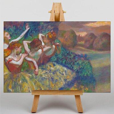 Big Box Art Dancers Preparing No.2 by Edgar Degas Art Print on Canvas