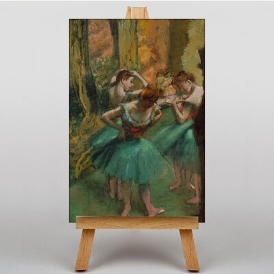 Big Box Art Preparing No.3 by Edgar Degas Art Print on Canvas