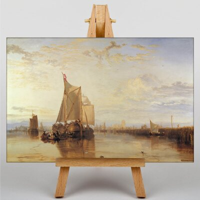 Big Box Art The Dort Packet Boat by Joseph Mallord William Turner Art Print on Canvas
