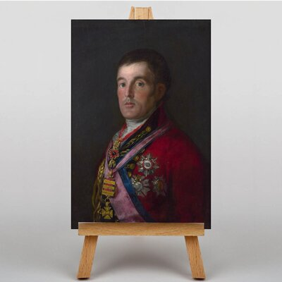 Big Box Art Duke of Wellington by Francisco De Goya Art Print on Canvas
