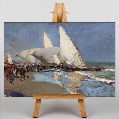 Big Box Art The Merchant Ships by Joaquin Sorolla Y Bastida Art Print on Canvas