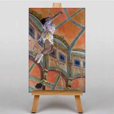 Big Box Art Miss La La Cirque Fernando by Edgar Degas Art Print on Canvas