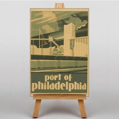 Big Box Art Philadelphia No.3 Vintage Advertisement on Canvas