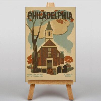 Big Box Art Philadelphia No.4 Vintage Advertisement on Canvas
