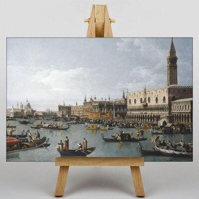 Big Box Art San Marco by Bernado Bellotto Canaletto Art Print on Canvas