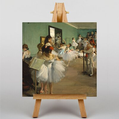 Big Box Art The Dance Class by Edgar Degas Art Print on Canvas