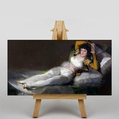 Big Box Art The Clothed Maja by Francisco De Goya Art Print on Canvas