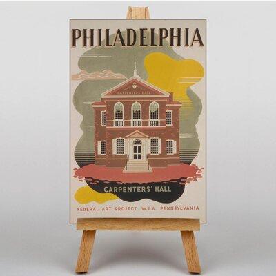Big Box Art Philadelphia Vintage Advertisement on Canvas