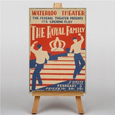 Big Box Art The Royal Family Vintage Advertisement on Canvas